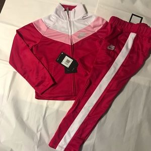 Authentic Nike Girl 2 Piece Athletic Track suit